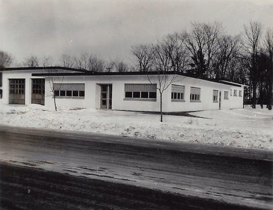 Gillett incorporated as a city in 1944 and initially rented office space at a local doctor's office before this City Hall and Fire House was built in 1953. The fire department later moved into the city's Industrial Park.