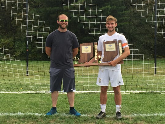 Zack Bell won two sectional titles in his first two years playing for Greenfield-Central. His uncle, Dean Suddarth, played a key role in his development.