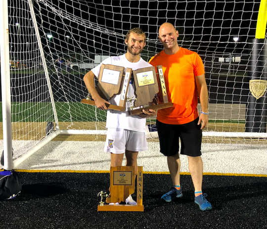 Zack Bell has helped Greenfield-Central win three straight sectional titles, thanks in large part to the coaching of his uncle Dean Suddarth.
