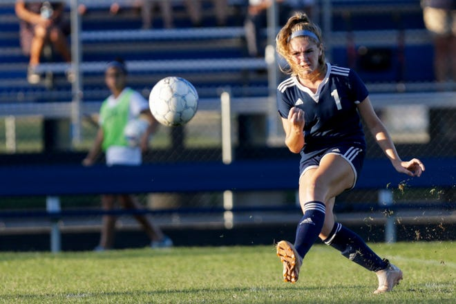 Sophomore Karsyn Cherry had two goals and an assist during Saturday's regional.