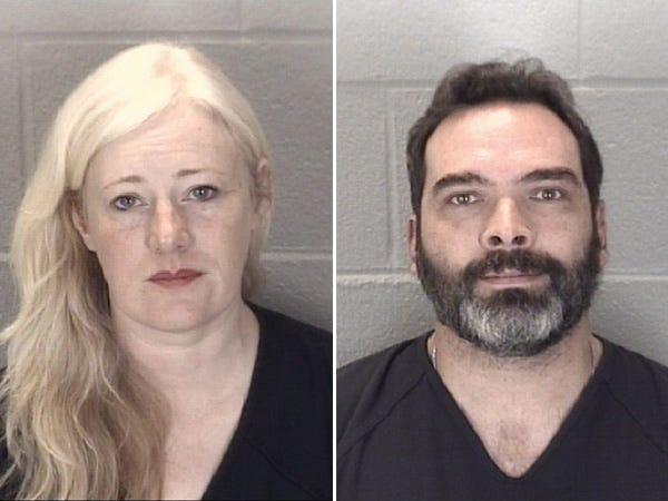 Kristine Barnett, left, and her ex-husband Michael Barnett
