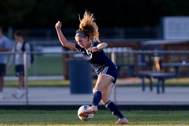 Central Catholic junior Karsyn Cherry committed to the University of Louisville women's soccer program on Wednesday.