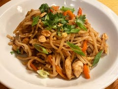 Quick pad thai for a weeknight