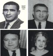 From top left, Gary Oade, owner of Mac's Bar; Joe Oade, owner of The Mayfair and The Dells; Mitch Oade, owner of Oade's Party Store, and Nimery Oade Fleming, the namesake of Nim's, now Dagwood's.