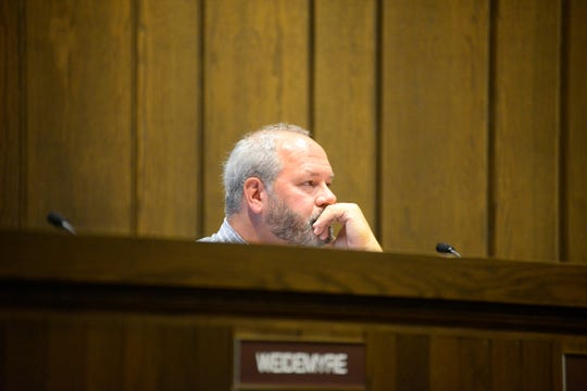 Dan Zeiter, fourth ward councilman, made clear Wednesday that he does not support Ontario Local School District's move to place a levy on the Nov. 5 ballot.