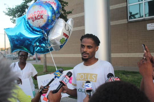 Martavious Banks was released on probation on Aug. 28 after he was critically wounded by a Memphis police officer who turned off his body camera in 2018.