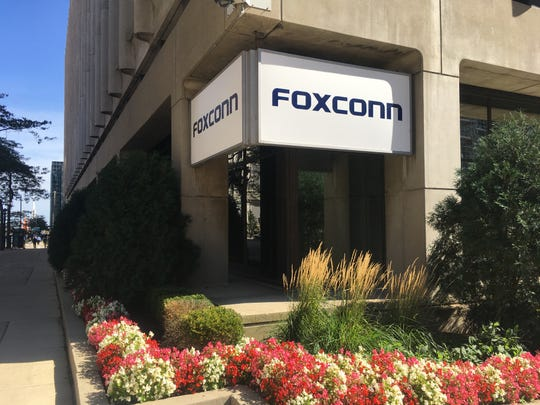 Foxconn said Gov. Tony Evers recently toured a Japan plant that will have similarities to one being built in Racine County.