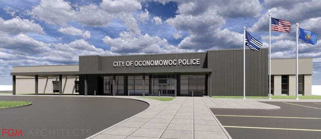The city of Oconomowoc's new public safety building is expected to be completed this fall.