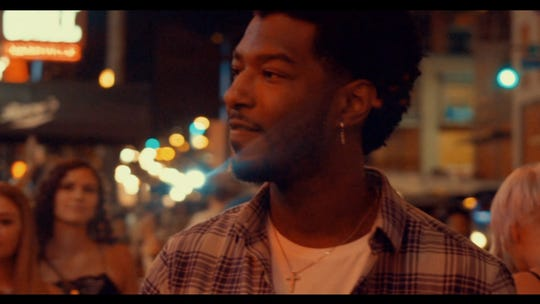 Willie Jones in the 'Bachelorettes on Broadway' video