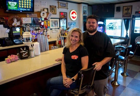 Tim and Christin Malherbe bought Bummie's Pub & Grub on Cedar Street in Newark 5 years ago. They offer local taps as well as American style food for lunch and dinner.