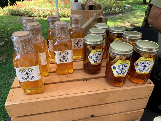 Cape May Honey Farm offers raw and infused honey.