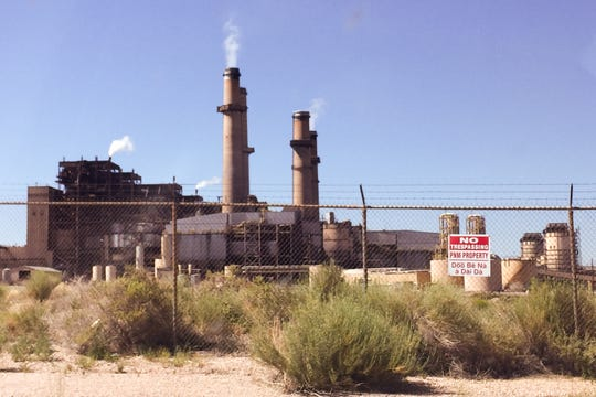 San Juan Generating Station in Waterflow, New Mexico.