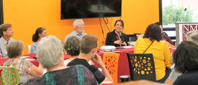 New Mexico State University-Alamogordo held a Red Flag Laws panel for Constitution Day September 19, 2019.