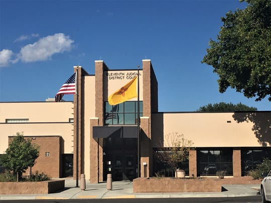 The Eleventh Judicial District Court building is pictured, Thursday, Sept. 19, 2019, in Aztec.