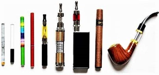 Vaping devices came in a variety of shapes and appearances.