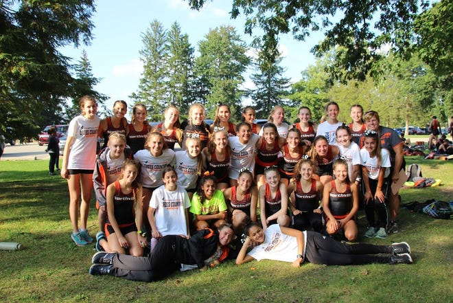 The Northville girls cross country team finished in third at its latest meet, finishing in front of both Salem and Brighton.