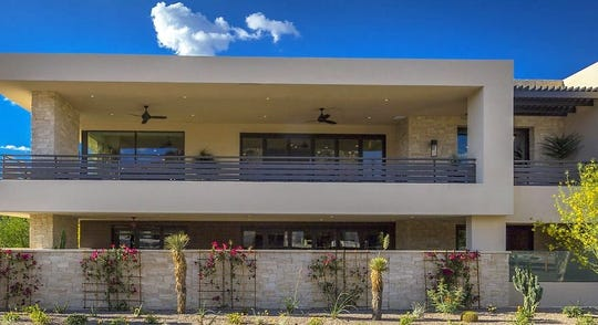 Paul and Shari Finch paid $2.2 million for this home in Paradise Valley.