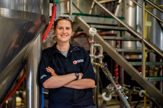 Kristin Luparello is the lead brewer at SanTan Brewing.