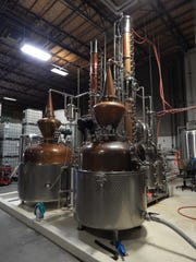 SanTan's spirits are also distilled at the Chandler production facility.