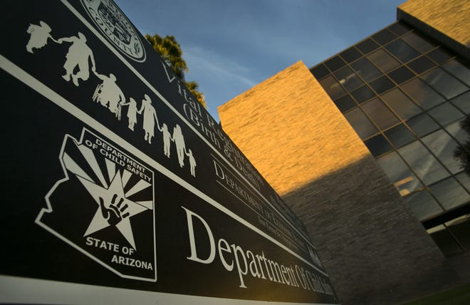 The Arizona Department of Child Safety regional office at 3221 N. 16th St. in Phoenix.