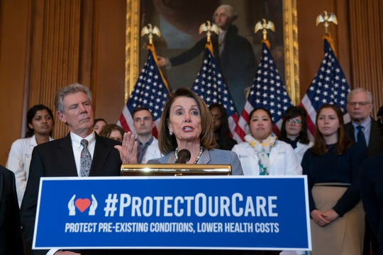 Anteriormente, la presidenta de la mayoría en la Cámara Baja, Nancy Pelosi, ya había hecho esfuerzos relacionados al cuidado de la salud.