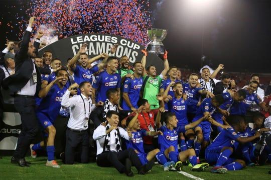 Cruz Azul se coronó en la primera edición de la Leagues Cup.