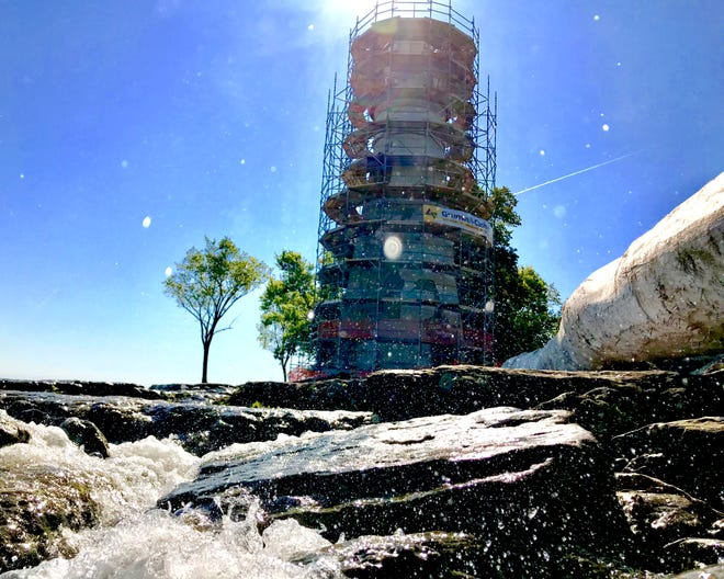 The Marblehead Lighthouse State Park, one of the most photographed locations in all of Ohio, has been getting restoration and other improvement work done ahead of next month's festival.