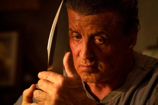 "Sylvester Stallone stars in ""Rambo: Last Blood."" The movie is playing at Regal West Manchester, Frank Theatres Queensgagte Stadium 13 and R/C Hanover Movies."