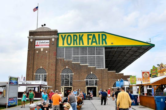 The York Fair grandstand, as seen, here was built in 1926. The York Fair is one of several events around York County that help contribute to a billion-dollar tourism industry for both the county and the state.