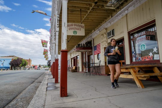 A view of Main Street in front of the Niles Coffee Co. store on Tuesday morning, Aug. 6, 2019 in Alturas.