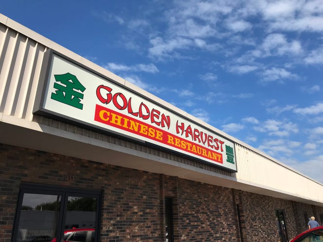 The Golden Harvest Chinese restaurant, located in a western Sioux Falls strip mall at 301 S. Garfield Ave.