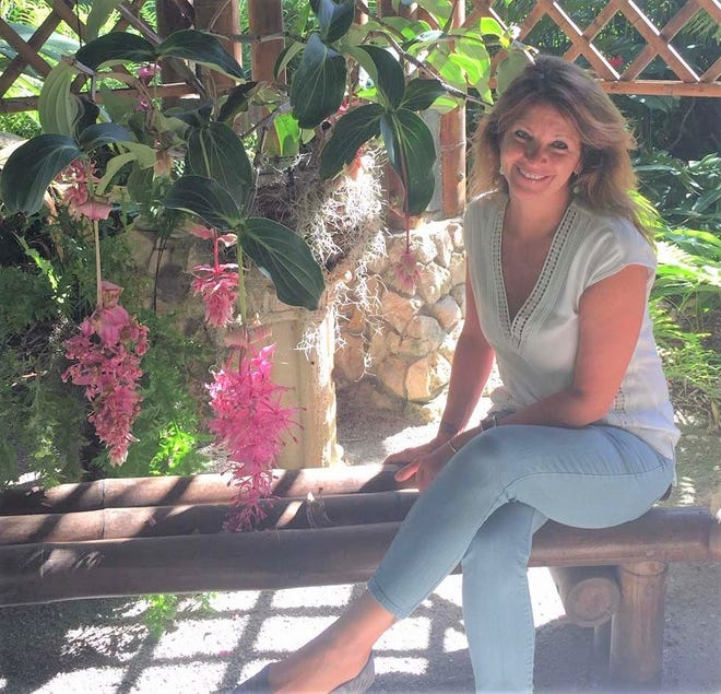 Triana Romero is the new director of development at McKee Botanical Garden.
