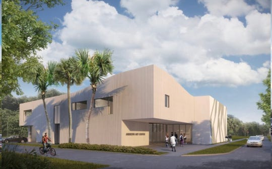 Jupiter Island resident Douglas Andrews wants to construct a contemporary building to house his high-end private art collection in Hobe Sound, at Dixie Highway and Saturn Avenue.