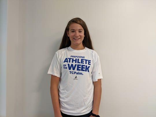 Athlete of the Week Madison Gravlee