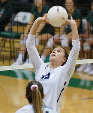 Malia Preisendorf is a senior on the Redwood High School girls volleyball team.