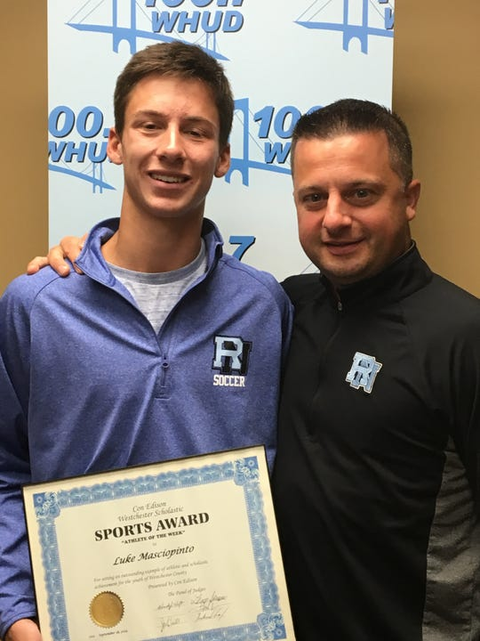 Rye Neck's Luke Masciopinto, the latest Con Ed Athlete of the Week.
