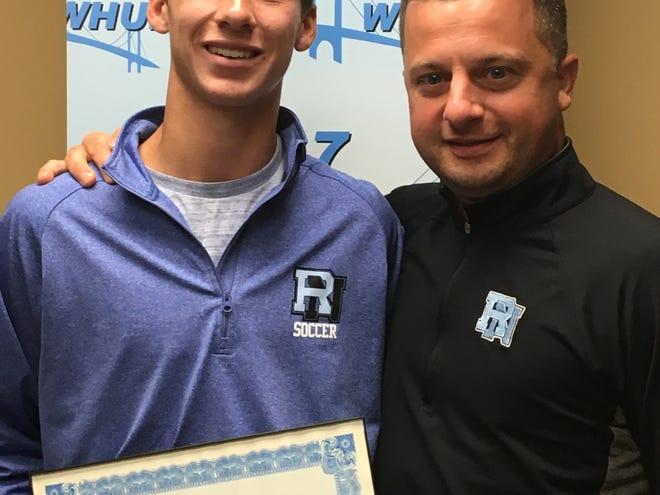 Rye Neck's Luke Masciopinto, the latest Con Ed Athlete of the Week.