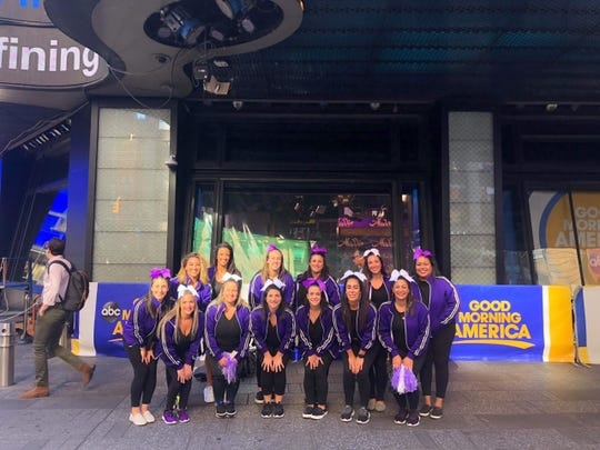 On Sept. 19, 2019, the 1999 New Rochelle High School cheerleading team  celebrated Good Morning America's 20th year in Times Square by returning to the show.