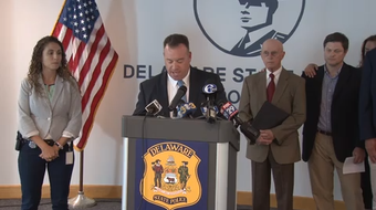 Police held a press conference Wednesday with the family of Susan Ledyard asking for the public's help for iformation into her disappearance and death.  9/19/19