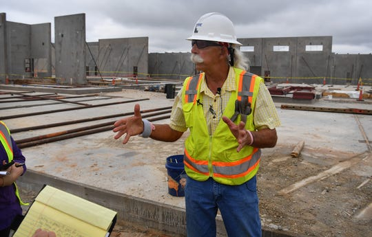 Jon Bormann of Yates Construction talks about the specialized requirements of constructing a safe and secure facility designed for incarceration. The Law Enforcement Center is scheduled for completion in August of 2020.