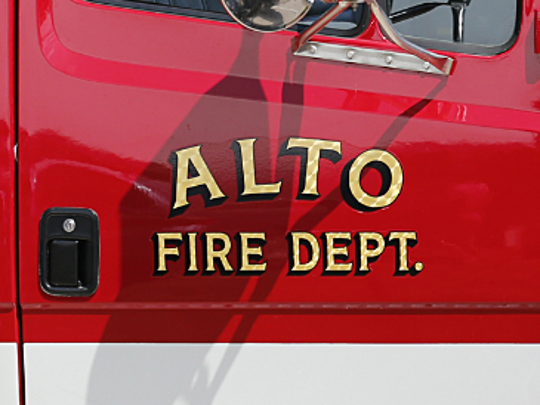 Two employees were transported to an area hospital following a chlorine leak at the Saputo Cheese plant in Alto Thursday morning.