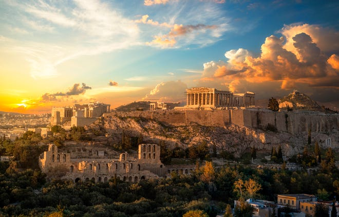 To make an Acropolis visit more comfortable, the best things to do are to bring a hat and lots of water – there is no shade to protect against the scorching summer temperatures and there's no food or water available once you're through the ticket booth.