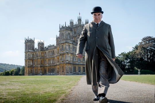 """The Crawley family castle and Mr. Carson (Jim Carter) remain exemplars of constancy in """"Downton Abbey."""""""