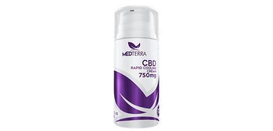 Medterra's Rapid Cooling Cream- 750mg
