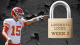 SportsPulse: Like the Patriots and Cowboys, Lorenzo has been perfect through two weeks with his picks. Follow along and win some money in Week 3.
