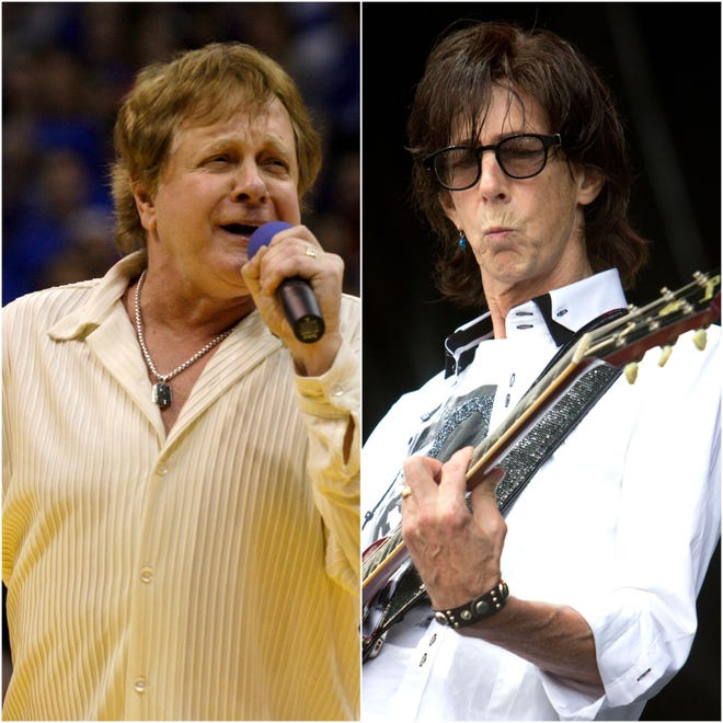 Fans seem to be paying tribute to Ric Ocasek, left, and Eddie Money by buying and streaming the artists' music.