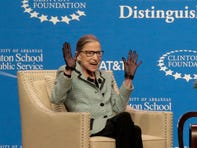After cancer, Supreme Court's Ruth Bader Ginsburg hits the road to prove her vitality -- and longevity