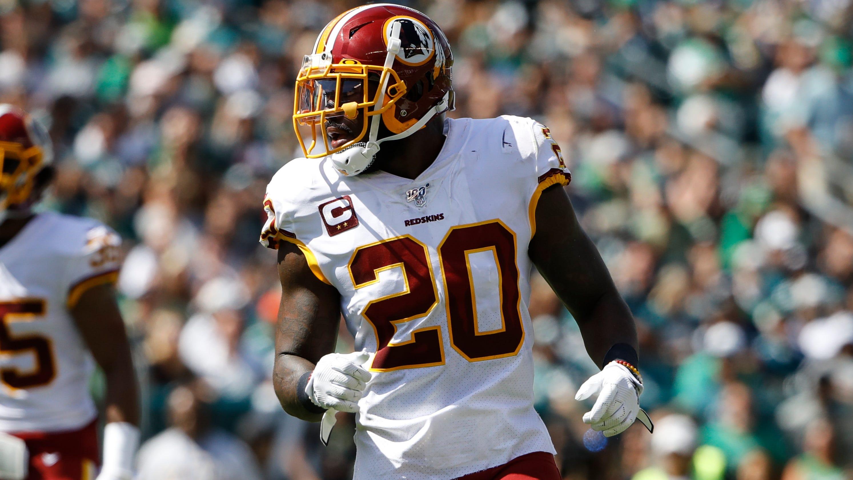 online retailer 84661 f166c NFL: Redskins' Landon Collins calls out Giants GM Dave Gettleman