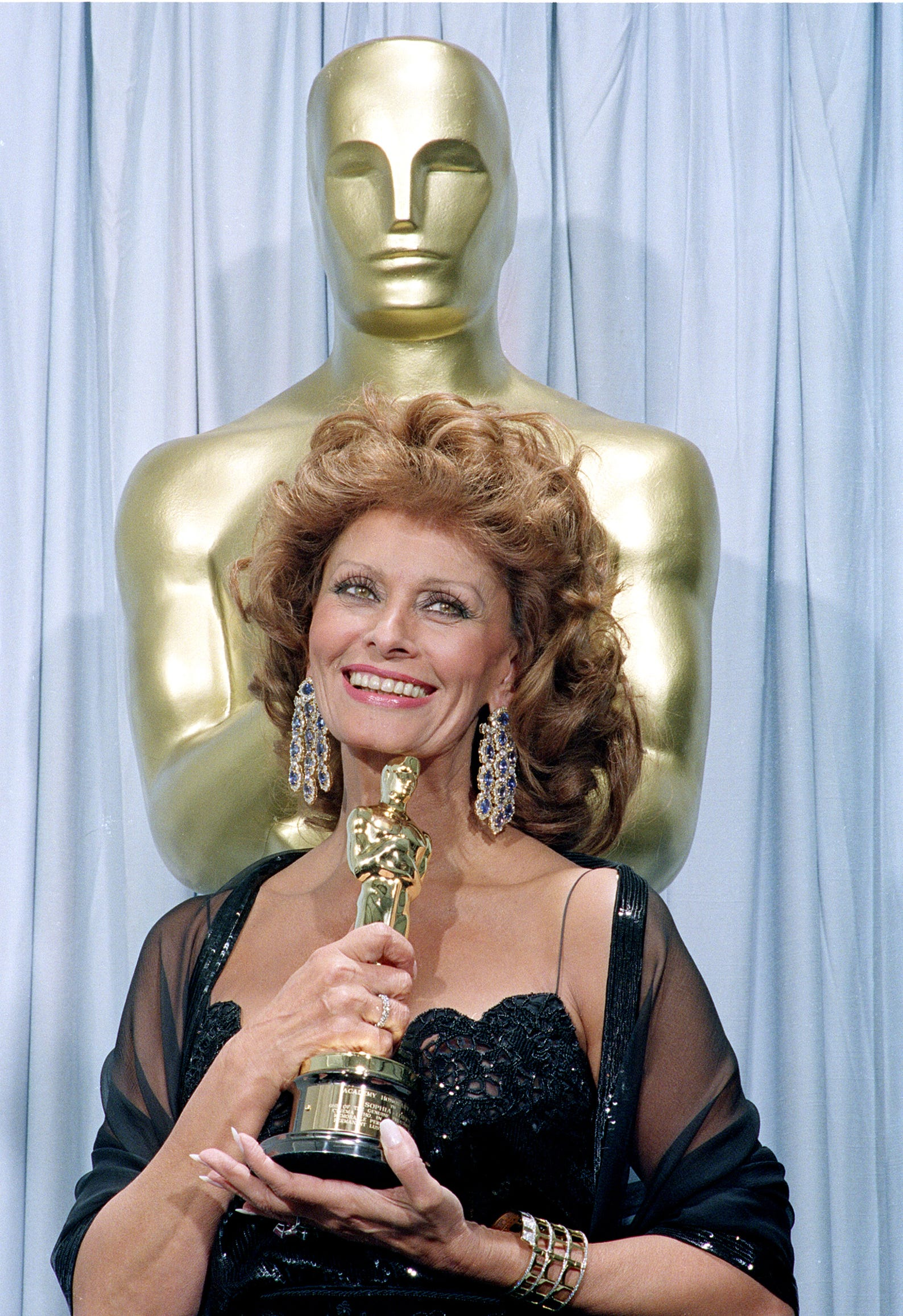 Loren received an honorary Oscar at the 63rd annual Academy Awards on March 25, 1991.