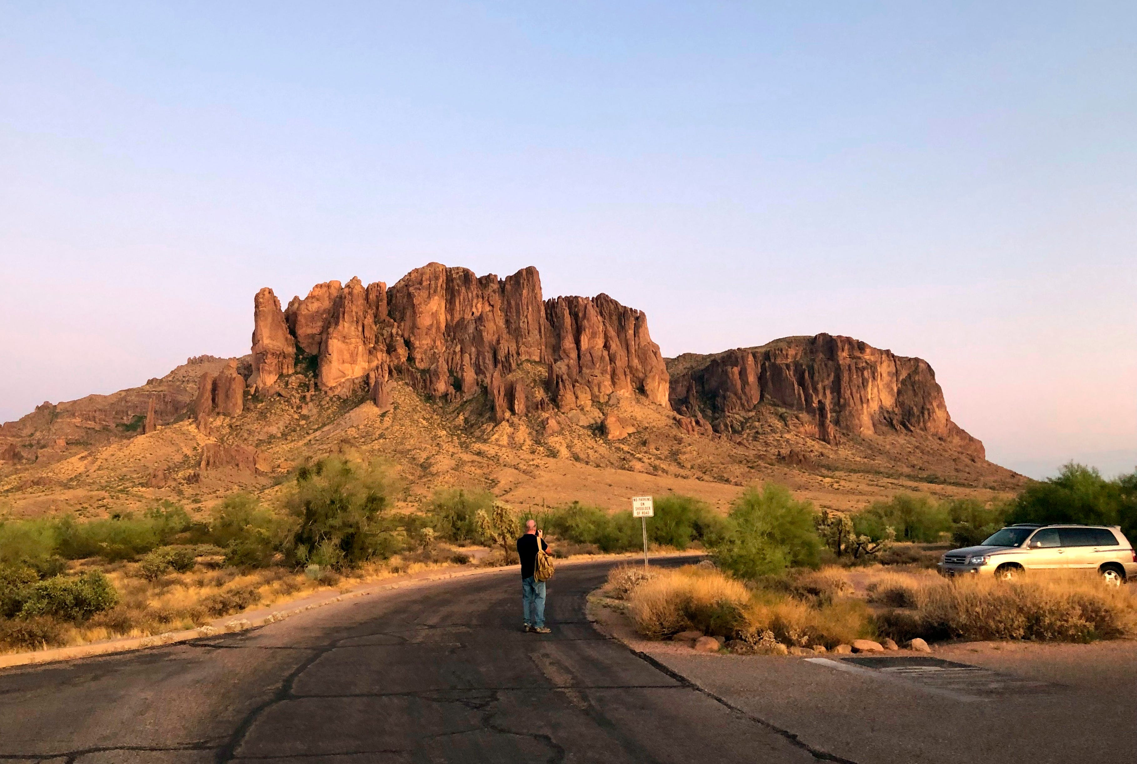'I've got one!' What it's like to hunt neon scorpions in the Arizona desert